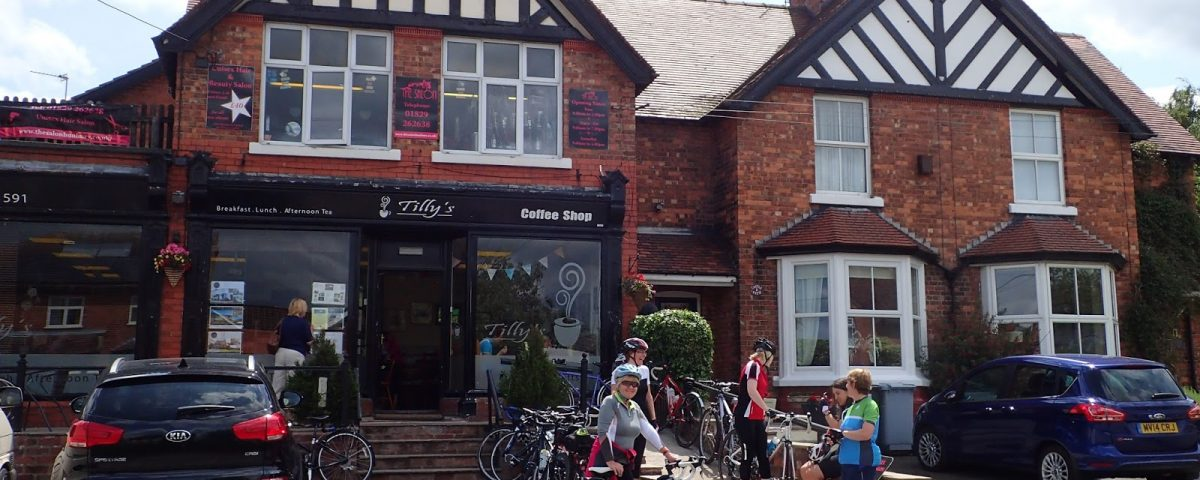 Tilley's Coffee Shop, Bunbury, Cheshire – Sandstone Trail