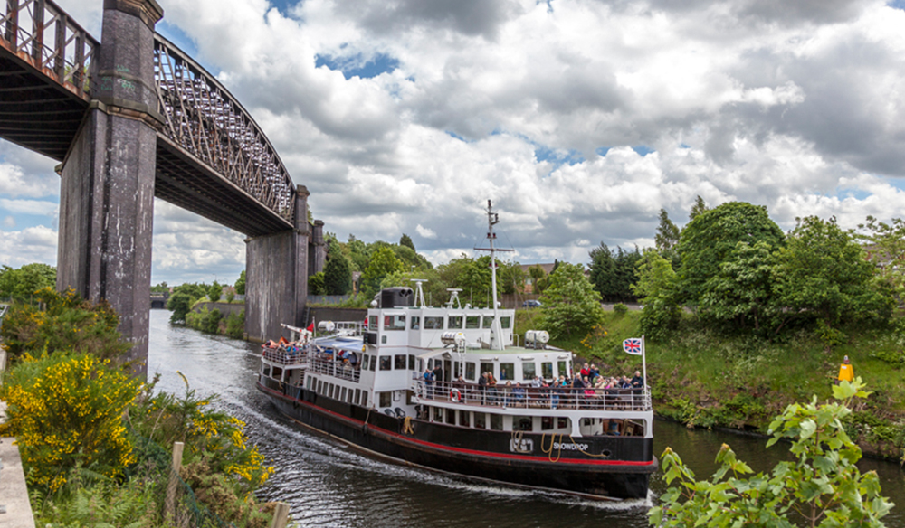 Mersey Ferries and Manchester Ship Canal